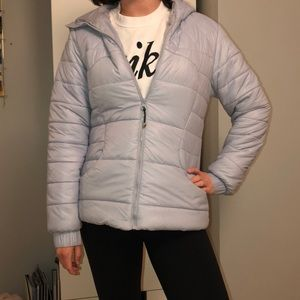 Light Blue Lululemon Jacket